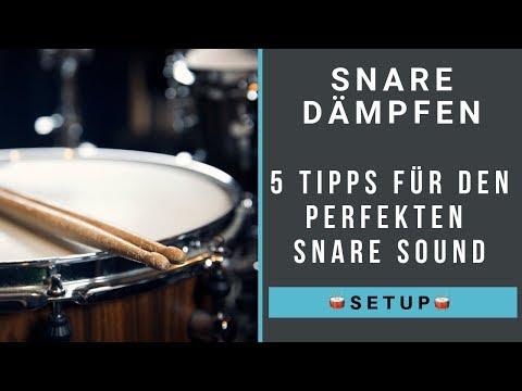 Snare Dämpfen – 5 Tipps für den richtigen Snaresound