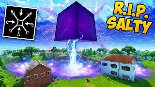 *LEAKED* Cube Will DESTROY SALTY SPRINGS! - Fortnite Funny Fails and WTF Moments! #312