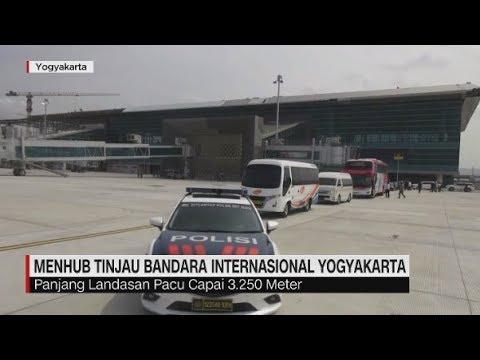 Menhub Tinjau Bandara Internasional Yogyakarta