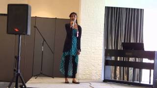 "Annie Persaud Singing ""Come Together"" CML 2015"