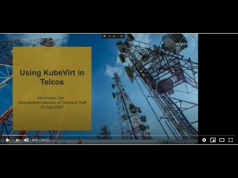 Webinar: Using KubeVirt in telcos