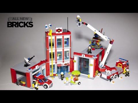 Vidéo LEGO City 60110 : La caserne des pompiers