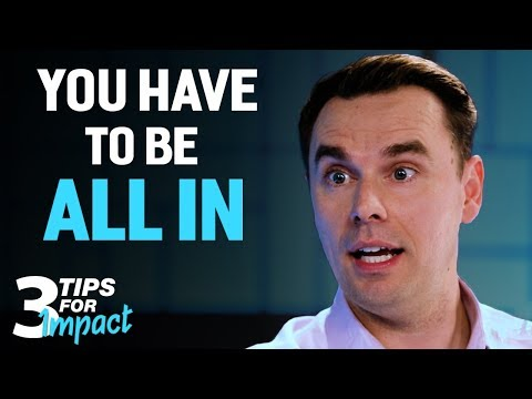 Brendon Burchard's Top 3 Tips for Impact