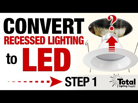 Convert my Recessed Lighting Downlight with LED Trims - Identifying if your housing can will work
