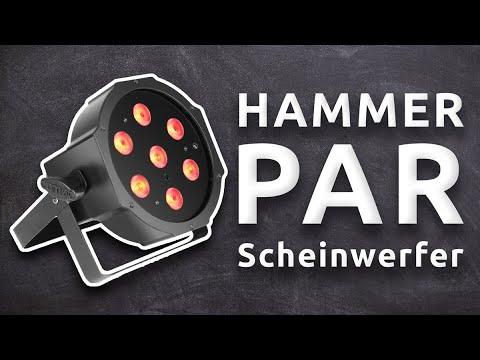 Hammer PAR Scheinwerfer! | CAMEO FLAT PAR