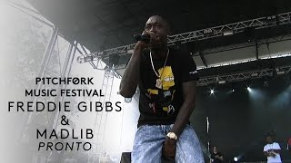 "Freddie Gibbs & Madlib perform ""Pronto"" - Pitchfork Music Festival 2015"