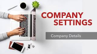 Company Settings: Account and Billing