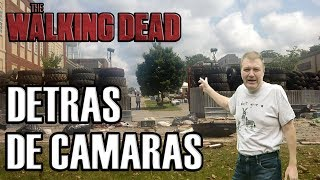 THE WALKING DEAD BUSCANDO ZOMBIES DONDE GRABAN LA SERIE
