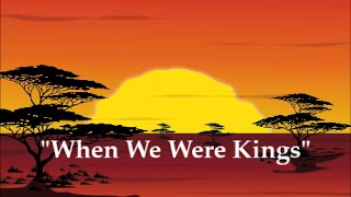"""IOG - Wednesday Night Q&A 03022016 - """"When We Were Kings"""" (edited)"""