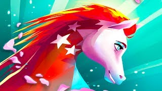 СИМУЛЯТОР МАЛЕНЬКОЙ ЛОШАДКИ #8 EverRun лошади-хранители / Приключение мульт героев #ПУРУМЧАТА