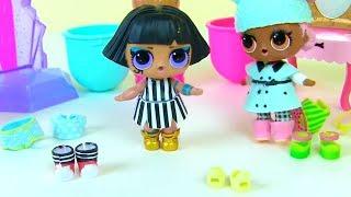Куклы Лол Загорают и Одевалки! Лол Мультик! Видео для детей! Lol! Baby Dolls