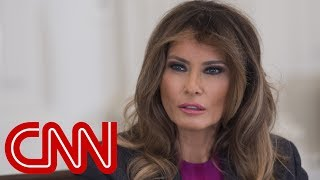 Melania speaks at event after ex-playmate apologizes