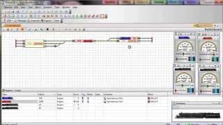 Traincontroller 08: Automatic Driving - Spontaneous Run
