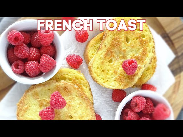 Easy French Toast (VIDEO)