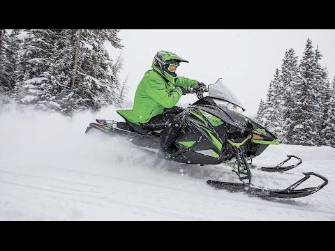 2018 Arctic Cat ZR 8000 ES (129) in Mio, Michigan