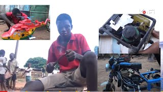 FULL VIDEO:GHANAIAN BOY MAKES HELICOPTER WITH PLASTIC WASTE