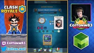 Clash Royale | 12 WIN BANDIT DRAFT CHALLENGE!