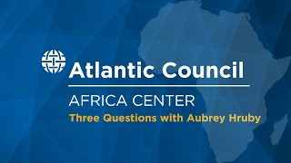 Three Questions with Aubrey Hruby on the 2014 Africa Leaders Summit