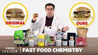 Making A US Big Mac Using All 54 McDonald's Ingredients | Fast Food Chemistry