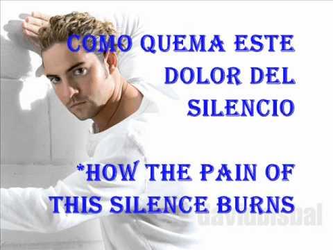 Learn spanish with songs - David Bisbal- Silencio