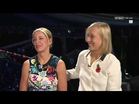 Chris Evert and Martina Navratilova look back on their legendary rivalry and tennis careers!