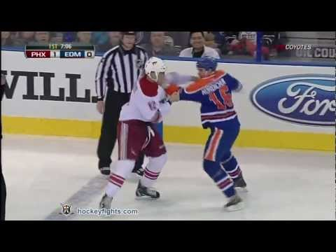 Darcy Hordichuk vs. Paul Bissonnette