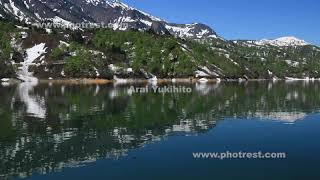 奥只見湖の動画素材, 4K写真素材