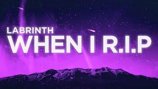 Labrinth   When I R.I.P (Lyrics) | Euphoria Movie 2019 OST Soundtrack (Original HBO Series)