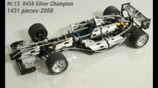 Top 20 biggest Lego Technic Sets Ever from 1994-2016