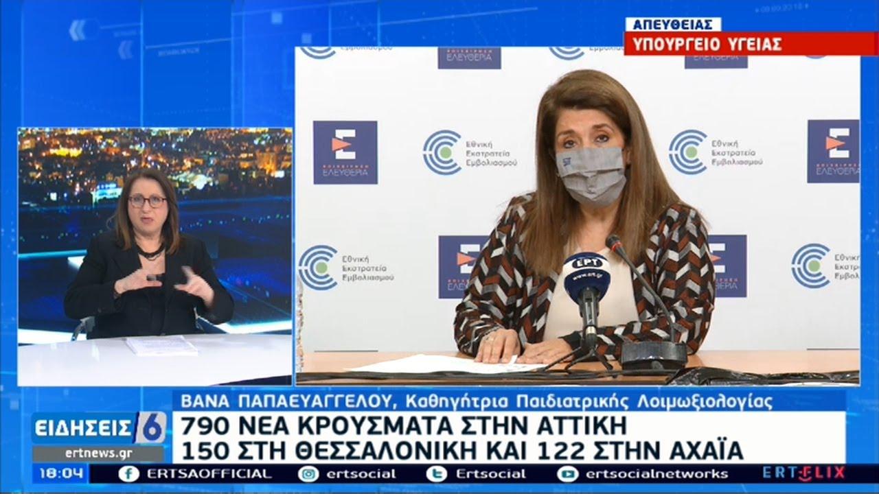 Παπαευαγγέλου: Δεν παρατηρήθηκε η μείωση που περιμέναμε στην Αττική | 26/02/2021 | ΕΡΤ