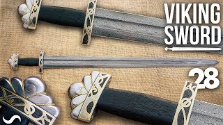 MAKING A VIKING SWORD!!! PART 28!! FINISHED