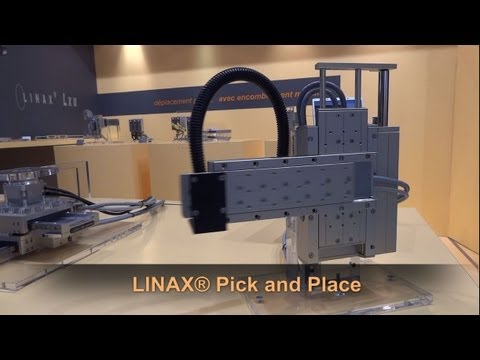 JSC Demo: LINAX® Pick and Place
