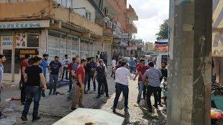 suruç'ta ak partililere saldırı - şanliurfa