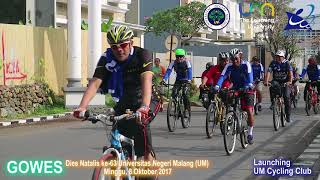 Dies Natalis ke-63, UM Launching Cycling Club
