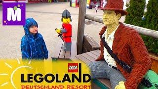 Летим в Леголенд Германия селимся в Лего отель Legoland Feriendorf Germany