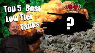 WoT || Top 5 || Best Low Tier Tanks
