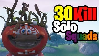 30 Kill Solo vs Squads - Season 7 Fortnite