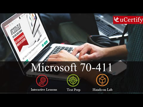 Microsoft MCSA: 70-411 Complete (Course & labs) - YouTube