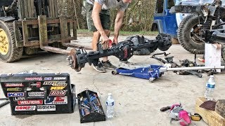 Rebuilding A Wrecked Jeep Rubicon Part 7