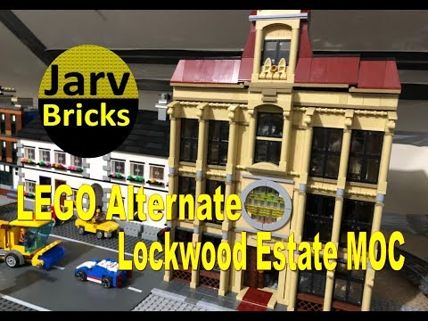 City Corner Antique Store LEGO 75930 alternate build fits Creator