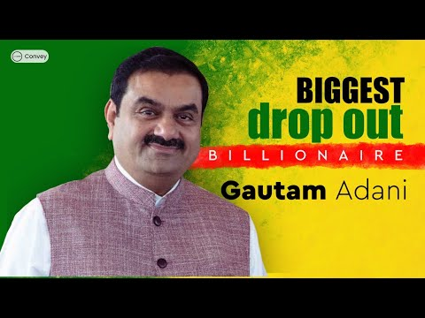 The Story of India's 3rd Richest Person: Gautam Adani (in Hindi)