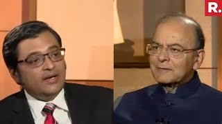 FM Arun Jaitley Speaks To Arnab Goswami After Budget 2018   Exclusive