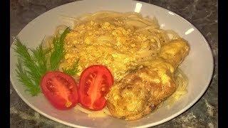 Курица в сливочном соусе. Курица в сливках на сковороде. Вкусная и нежная!