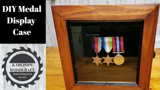 DIY Medal Display Case