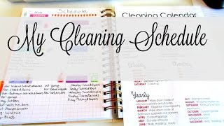 **My Cleaning Schedule**