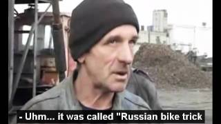 Drunk Russian Coal Miner (with subtitles)