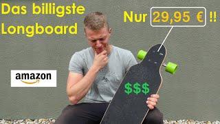 Das billigste Longboard auf Amazon: Nur 29,95 € - Was taugt es? | Erster Eindruck und Unboxing