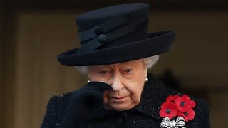 video: The tears of a Queen as the nation comes together to remember