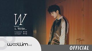 """남우현(Nam Woo Hyun) """"Write.."""" Album Preview"""