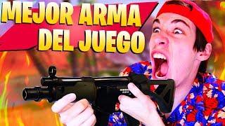 **INCREÍBLE** MI MEJOR PARTIDA CON EL MEJOR ARMA de FORTNITE Battle Royale
